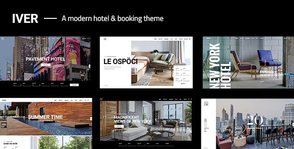 Iver - Modern Hotel Theme - Travel Retail