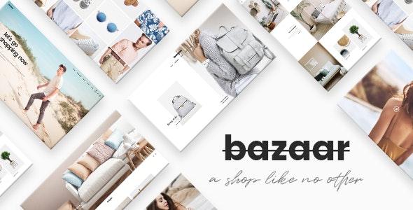 Bazaar - eCommerce Theme - WooCommerce eCommerce