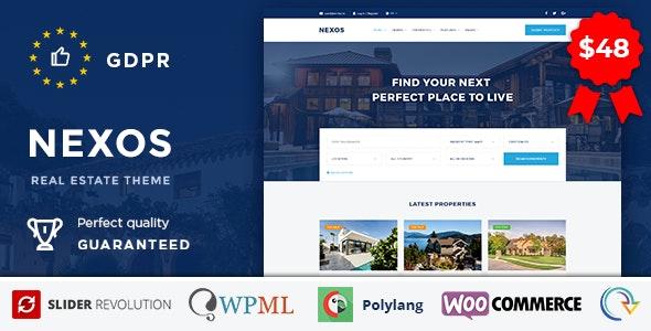 Nexos - Real Estate WordPress Theme - Real Estate WordPress