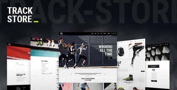 TrackStore - Sport Shop - WooCommerce eCommerce
