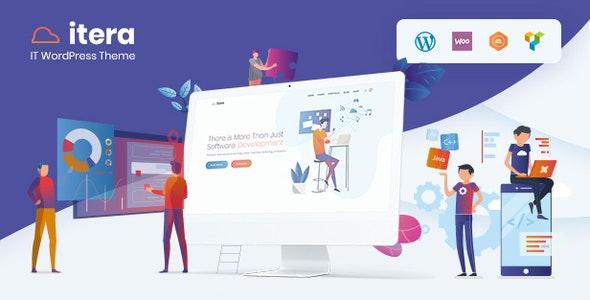 iTera - IT, SEO, Digital WordPress Theme - Business Corporate