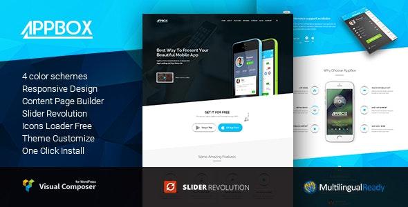 Appbox - App Landing & App Store by Templines | ThemeForest