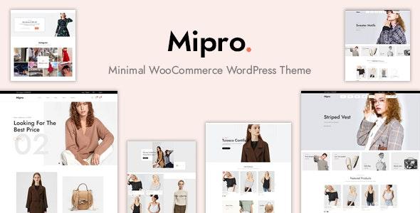 Mipro - Minimal WooCommerce WordPress Theme - WooCommerce eCommerce