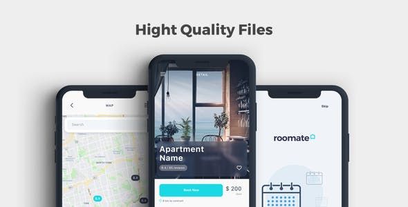 Oda - Room Booking Sketch UI Kit