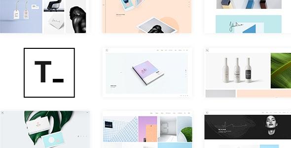 Tamashi - Portfolio Theme - Portfolio Creative