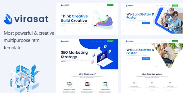 Virasat - Multipurpose OnePage & Multi Page Template - Corporate Site Templates
