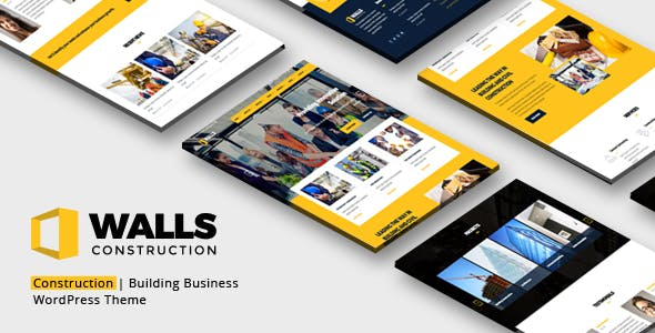 Walls WP - Construction Company WordPress Theme