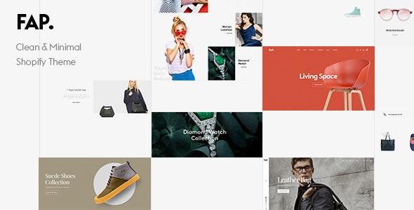 Fap - Clean & Minimal Shopify Theme by typostores | ThemeForest