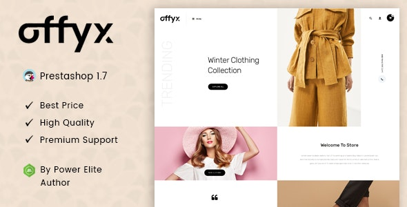Offyx - Responsive Prestashop 1.7 Theme - Fashion PrestaShop
