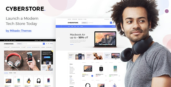 CyberStore - Simple eCommerce Shop - WooCommerce eCommerce