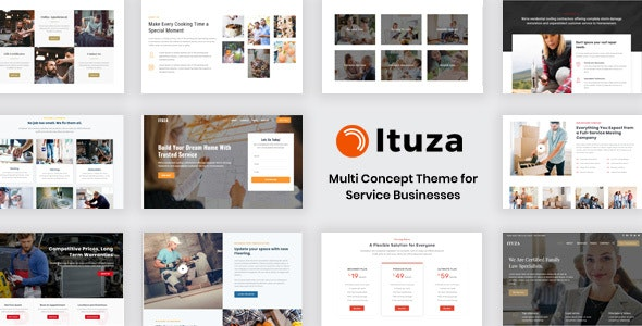 Ituza - Multi-Concept Theme for Service Businesses - Business Corporate