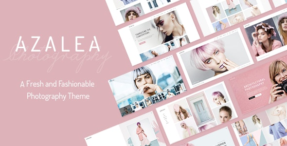 Azalea - Fashion Photography Theme - Photography Creative