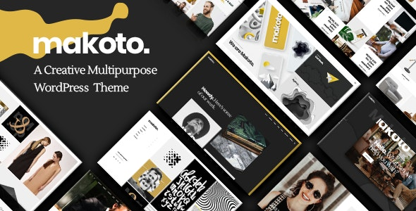 Makoto - Creative Multipurpose Theme - Creative WordPress