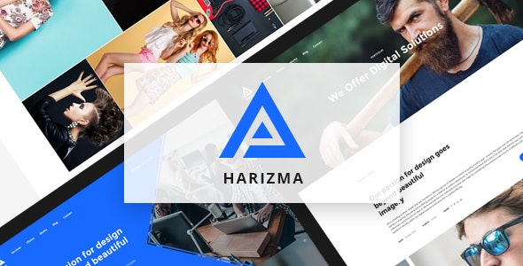 Harizma – Modern Creative Agency HTML5 Template - Creative Site Templates