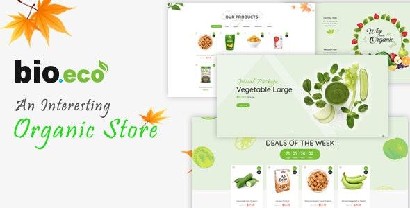 BioEco - An Interesting Organic Store Prestashop Themes - Health & Beauty PrestaShop