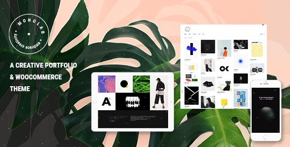 Monolab - Creative Portfolio Theme - Portfolio Creative
