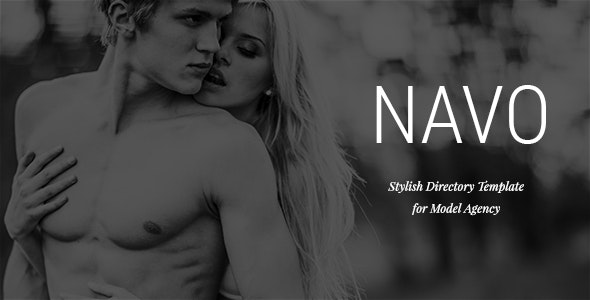Navo - Stylish Directory Template for Model Agency - Personal Photoshop