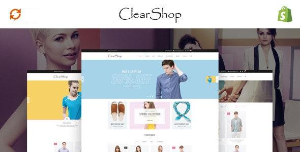 Clear Shop - Wonderful Responsive Shopify Theme - Shopping Shopify
