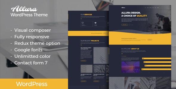 Allura - Portfolio WordPress Theme - Portfolio Creative