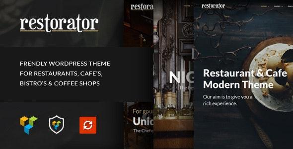 Restorator - Restaurant & Cafe WordPress Theme - Restaurants & Cafes Entertainment