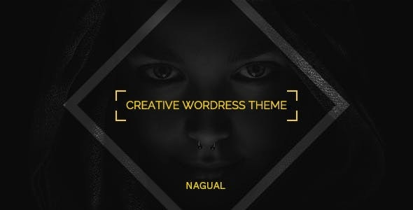 Nagual - Unique Personal/Agency Portfolio WordPress Theme - Portfolio Creative