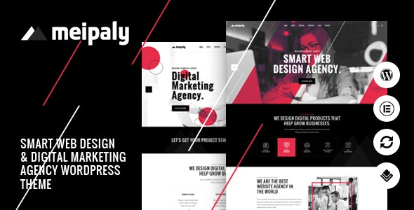Meipaly - Digital Services Agency WordPress Theme - Creative WordPress
