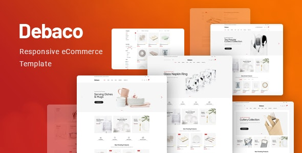 Debaco - Kitchen Appliances Store HTML Template - Shopping Retail