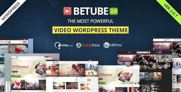 Betube Video WordPress Theme by JoinWebs | ThemeForest