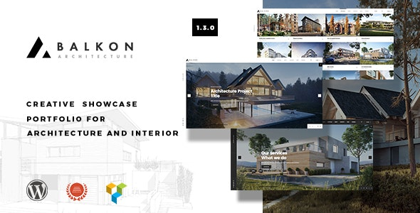 Balkon - Creative Responsive Architecture WordPress Theme - Business Corporate