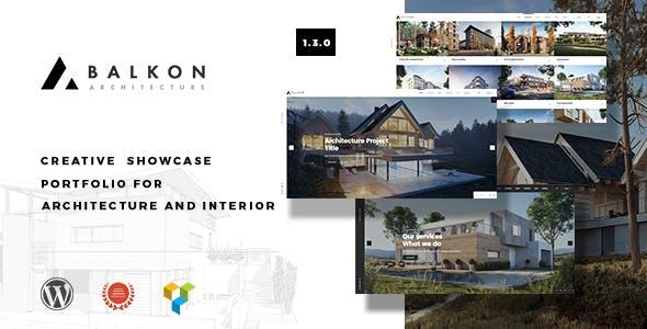 Balkon - Creative Responsive Architecture WordPress Theme