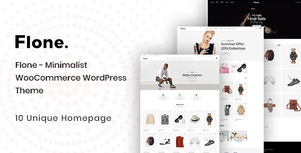 Flone – Minimal WooCommerce WordPress Theme - WooCommerce eCommerce