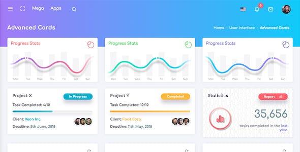 Chameleon Admin - Modern Bootstrap 4 WebApp & Dashboard HTML Template + UI Kit