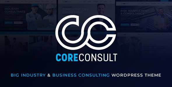 Coreconsult - Big Industry & Business Consulting WordPress Theme - Business Corporate