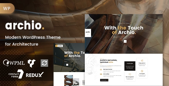 Archio - Architecture WordPress - Business Corporate
