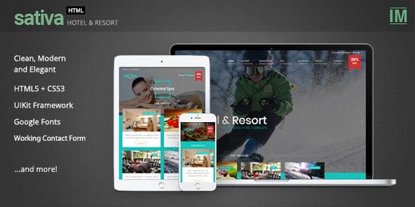 sativa - Hotel & Resort HTML Template - Retail Site Templates