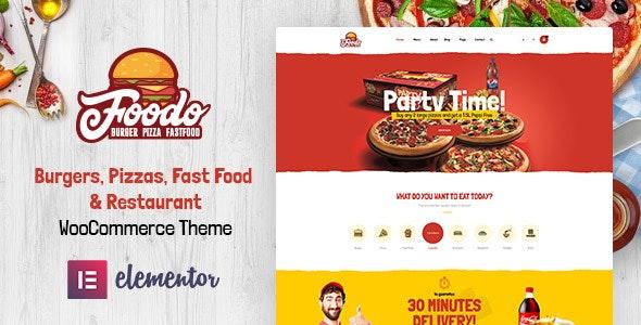 Foodo Fast Food Restaurant WordPress Theme By Themelexus