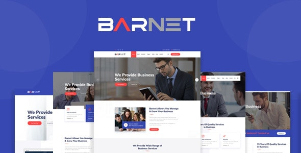 Barnet - Business Consulting and Professional Services HTML Template - Business Corporate