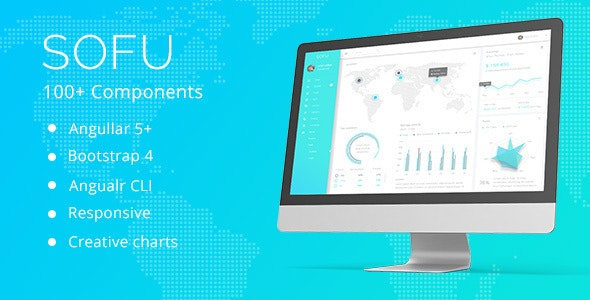 Sofu - Angular 7 & Bootstrap 4 Admin Template by pixel__