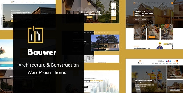 Bouwer - Architecture & Construction WordPress Theme - Business Corporate