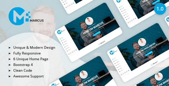 Miriam - Responsive Personal Template - Personal Site Templates