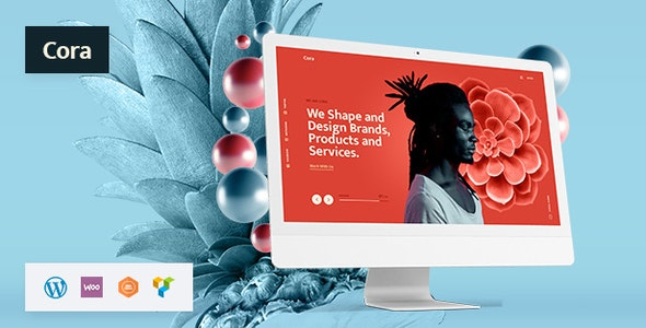 Cora - Creative MultiPurpose WordPress - Portfolio Creative