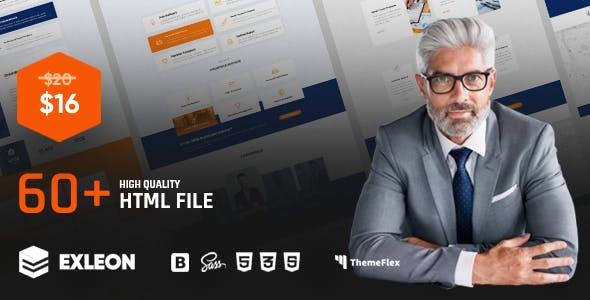 Exleon   The Multi-Purpose HTML5 Template