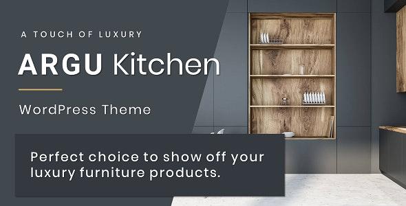 Argu -  Kitchen WordPress Theme - Business Corporate