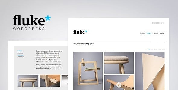 Fluke - Creative Portfolio WordPress Theme - Portfolio Creative