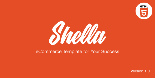Shella - eCommerce HTML template, responsive, multipurpose - Retail Site Templates