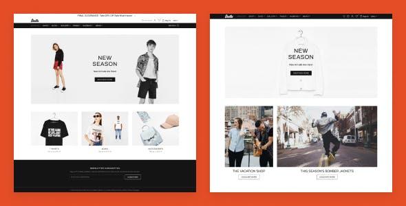 Shella - eCommerce HTML template, responsive, multipurpose