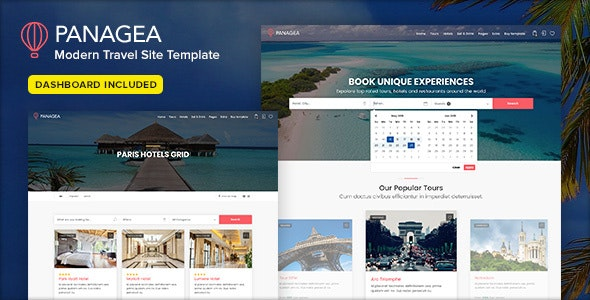 Panagea - Travel and Tours listings template - Travel Retail