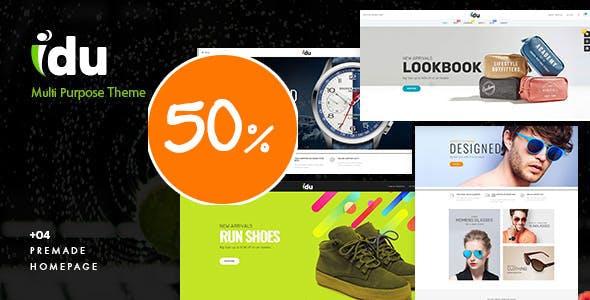 Bos Idu - Responsive Sport & Fashion PrestaShop Theme