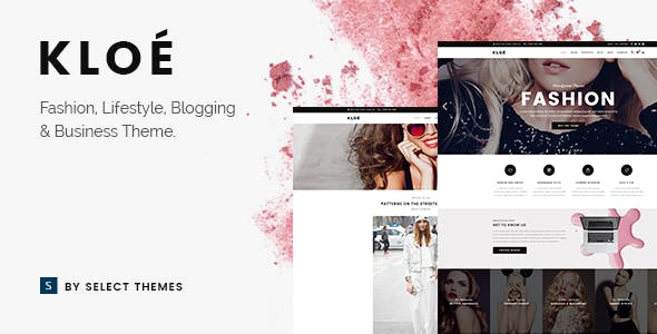 Fashion Blog Templates From Themeforest