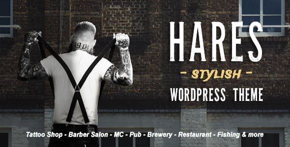 Hares - A Stylish WordPress Theme